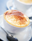 Join us for a cappuccino in our cozy cafe