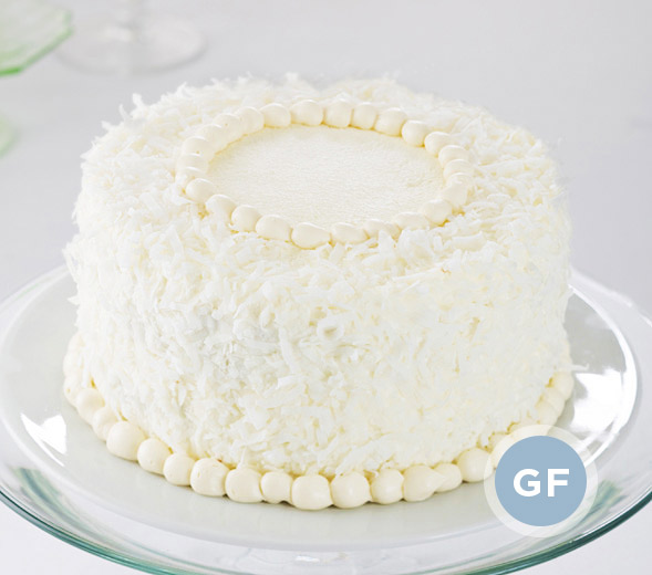 Old-Fashioned Coconut Cake