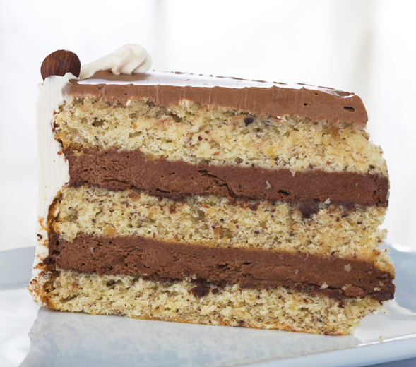 hazelnut cake chocolate hazelnut layer cake chocolate and hazelnut ...