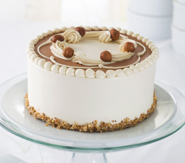 is a cake that is made with a cake of chocolate chocolate hazelnut ...
