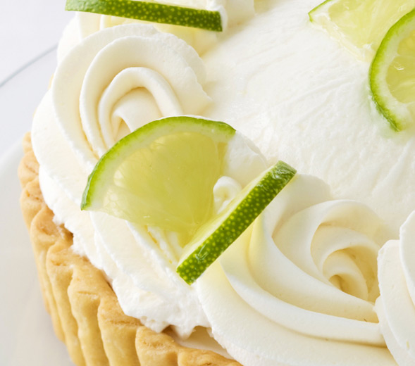 Fresh Lime Mousse Tart