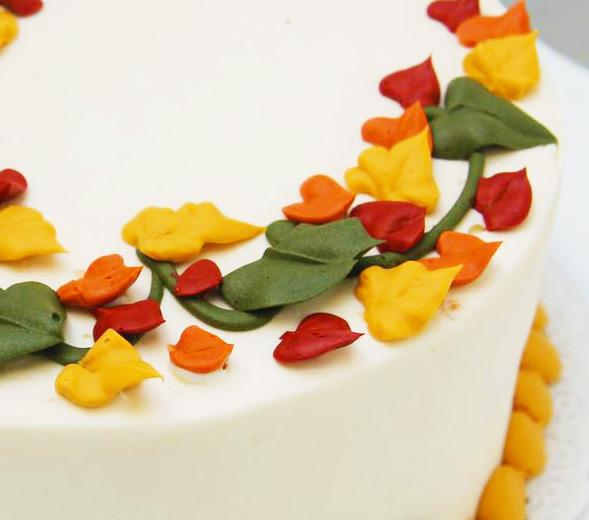 Classic Fall Deco Cake